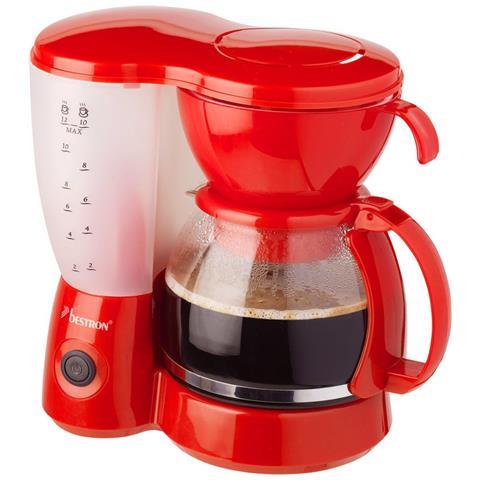 Macchina Caffè Americano 800 W Rossa Acm6081r