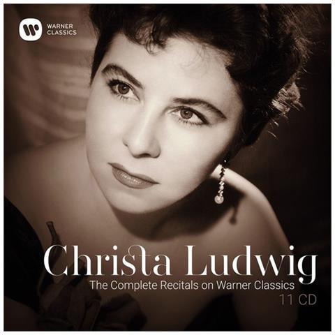 WARNER BROS Christa Ludwig - The Complete Recitals On Warner Classic (11 Cd)