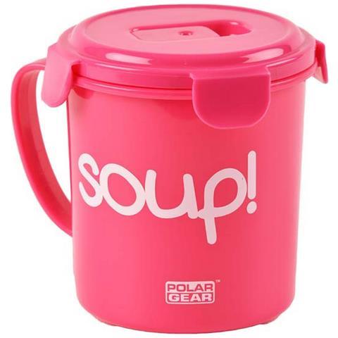 Contenitore Alimentare Per Zuppe (685ml) (rosa)