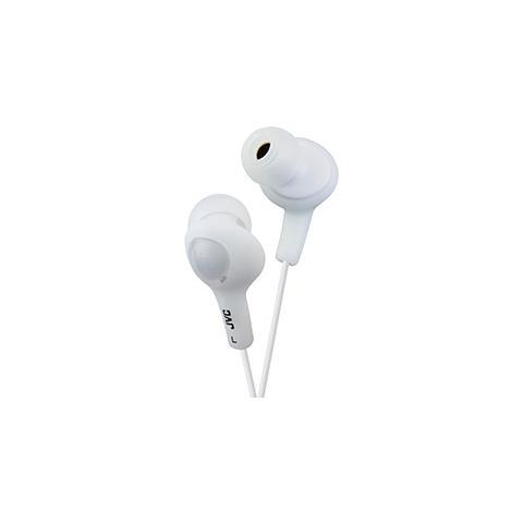 JVC Cuffie Auricolari Gumy Plus colore Bianco
