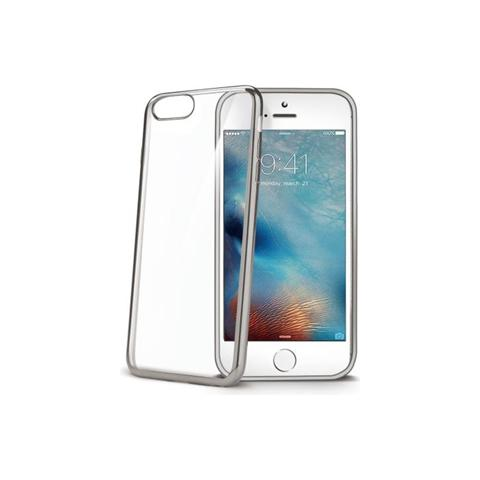 CELLY Laser Cover Iphone 7 Plus Silver
