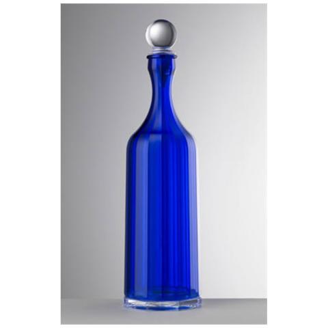 Bottiglia Bona Acrilico Con Tappo H 35,5 Cm Colore Blu