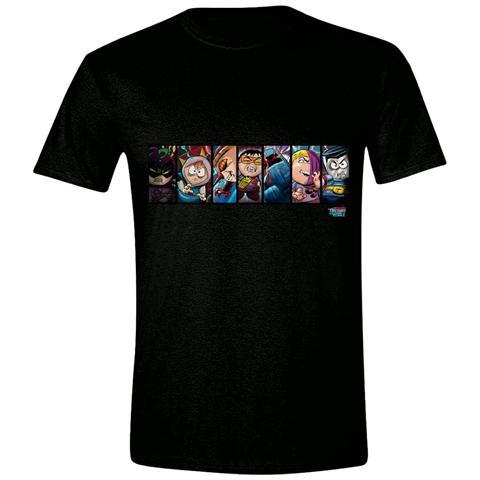 TimeCity South Park - Tfbw Comic Strip (T-Shirt Unisex Tg. S)