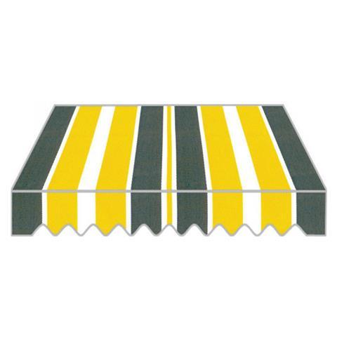 Tenda Da Sole A Caduta In Alluminio Con Tessuto In Poliestere Colore Giallo