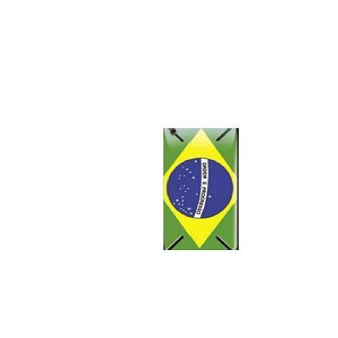 SMARTBUNNY Pellicola Protettiva Brasilian Flag iPhone 4