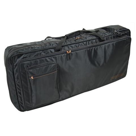 PROEL BAG910PN Nuova borsa per tastiera in robusto nylon 420D antistrappo Dimensioni interne: 1050 (larghezza) x 420 (profondità) x 170 (altezza) mm Imbottitura 20 mm Disponibile in colore nero