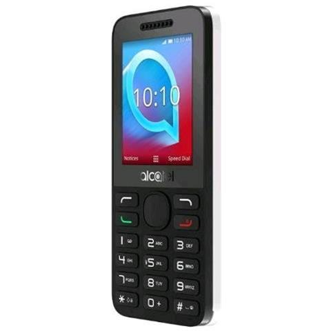 """ALCATEL OT 20-38X Display 2.4"""" Bluetooth +Slot per MicroSD Fotocamera Colore Grigio - Italia"""