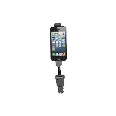 MEDIACOM Supporto per auto con Caricabatterie per iPhone 5