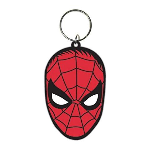 PYRAMID Spiderman - Face (Portachiavi Gomma)