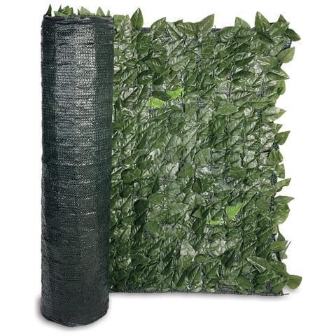 Bricoio rete ombreggiante siepe artificiale foglia for Siepe artificiale brico