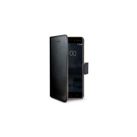 CELLY Flip Cover Custodia Wally per Nokia 6 colore Nero