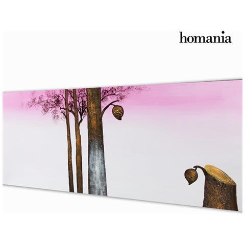 Homania Dipinto Olio Albero Porp By