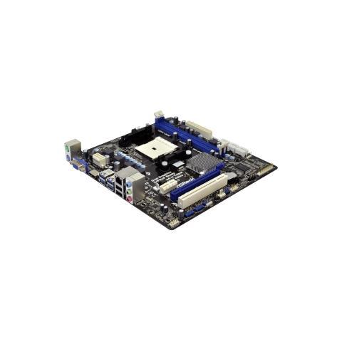 Image of Scheda Madre desktop ASRock A75M-HVS - AMD A75 Chipset - Socket FM1 - Micro ATX - 1 x Processore supportato - 16 GB DDR3 SDRAM RAM massima - Serial ATA / 600 Supporto RAID Controllore - Chipset scheda video - 1 x Slot PCIe x16 - 4 x Porta USB 3.0 - HDMI